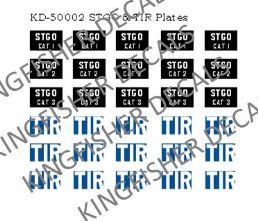 STGO and TIR Plates